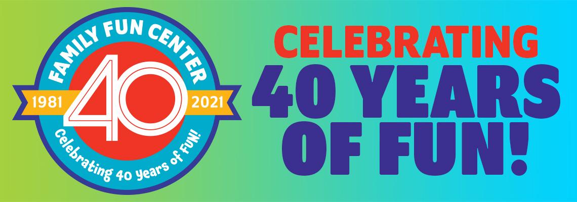 FFC 40th Anniversary 2021 HP Banner