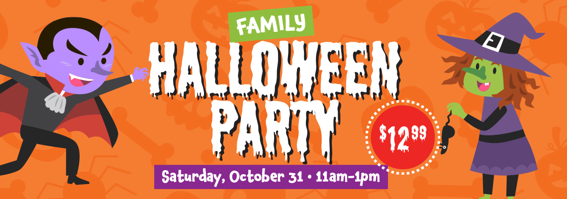 FFC Family Halloween Party 2020 HP Banner