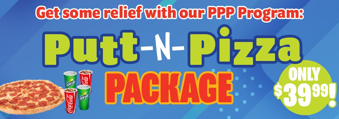 FFC Putt & Pizza Package 2020 HP Banner